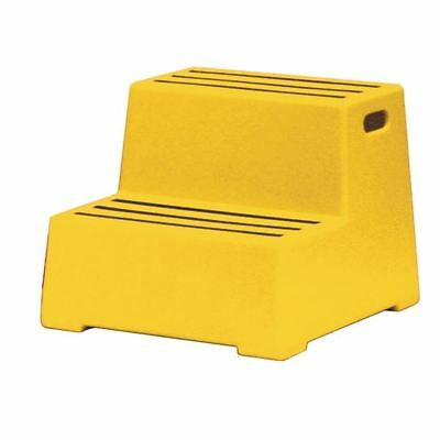 Plastic Safety Step 2 Tread Yellow 325097, 475x540x425mm [SBY11641]
