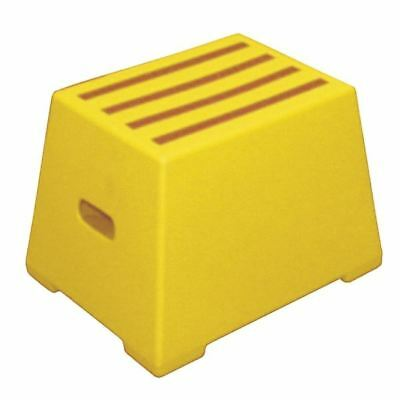 Plastic Safety Step 1 Tread Yellow 325094, 485x310x300mm  [SBY11638]