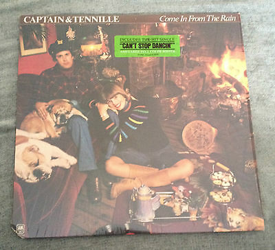 Lp The Captain & Tennille Come In From The Rain Poster Import 1977.