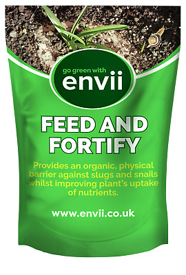 Envii Feed & Fortify - Pet Friendly Organic Slug and Snail Deterrent - 1.75kg