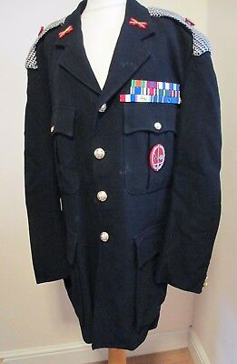 LEGION OF FRONTIERSMEN OFFICERS JACKET TUNIC HALLAMSHIRE & BADGES police pattern