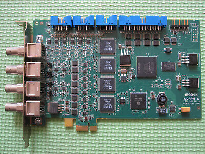 tested  Matrox Morphis Y7281-00 MOR4VDE (BY EMS or DHL 90days Warranty)