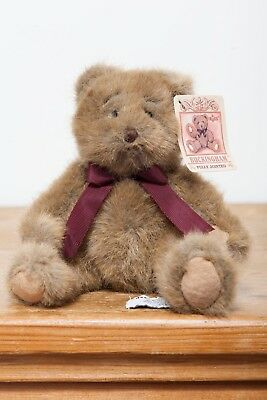 Russ Bertie Buckingham Teddy Bear - Fully Jointed - New With Tags