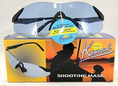 Konus Shooting Glasses..Blue Lenses..L@@K #8048