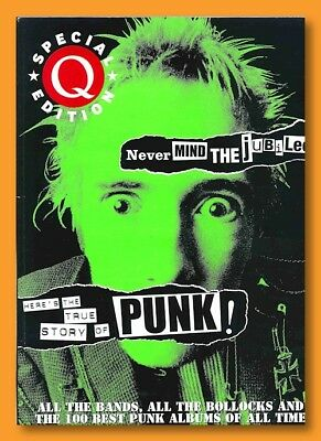 Q Magazine Special Ed Never Mind Jubilee Bollocks TRUE STORY OF PUNK