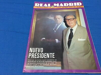 1978 Manchester Centenary. Manchester,4-Real Madrid,0.official magazine
