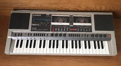 Vintage Casio Ck-500 Am/fm Stereo Cassette Electronic Keyboard CK500 FOR PARTS