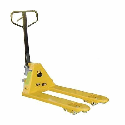 Quick Lift Pallet Truck 680x1200mm 2.5 Tonne Capacity Yellow 388960 [SBY10976]