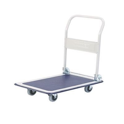 Lightweight Platform Truck Folding Handle Blue 319842 [SBY09894]