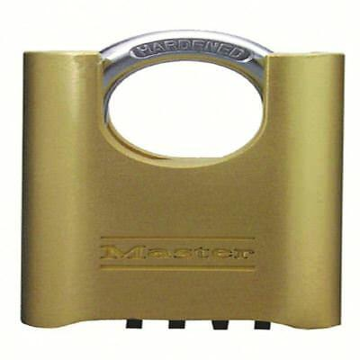 Brass Combination Change Shackle Padlock 57x25mm 319377 [SBY09705]