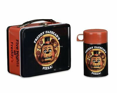 Five Nights at Freddy's Lunchbox w/ Drink Container- Freddy Fazbear's Pizza NECA