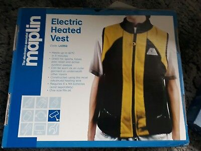 maplin heated electric vest