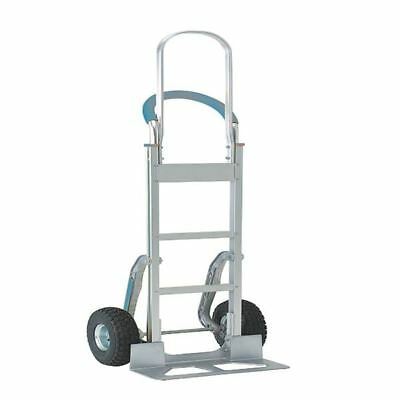Stair climbing Hand Truck Tall Frame Low-Friction Skids Aluminium [SBY08826]