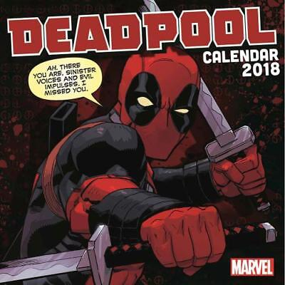 Deadpool Calendar 2018 Official Licensed Product