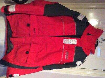 Musto MPX coastal jacket red size large