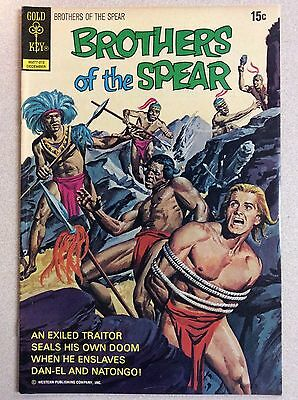 Brothers of the Spear #3 (Gold Key) December 1972