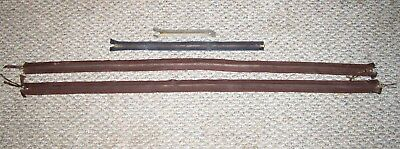 Lot Of 4 Vtg Wwii Conmar Type A-3 Shearling Leather Flight Flying Pants Zippers