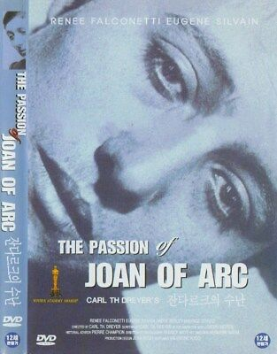 The Passion of Joan of Arc (1928) Carl Theodor Dreyer / Maria Falconetti DVD NEW