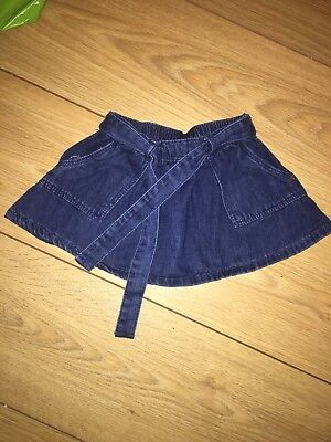 Baby Girl Denim Skirt 3-6 Months From Next