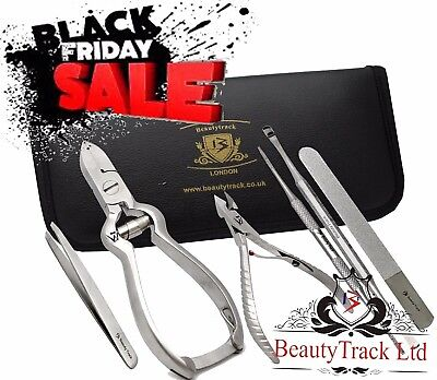 Podiatry Toe Nail Clippers Set Thick Nails Professional Chiropody Footcare Lab