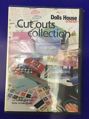 Dolls House World CD Collections - CUT OUTS COLLECTION for Dollhouse Scale 1:12