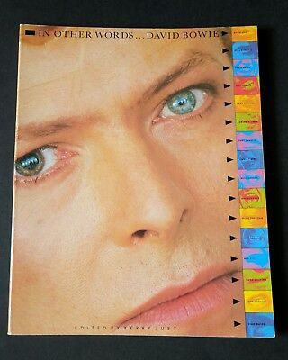 David Bowie- Rare In Orher Words Book