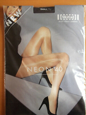 Wolford Tights´´Neon 40´´Nearly Black S 38-40