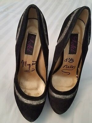 Actress Margaret O'Brien shoes from her own closet, size 6 1/2 signed insoles