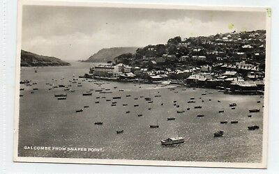 Salcombe from Snapes Point postcard. RP