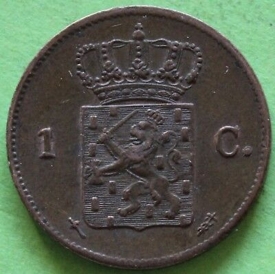 Pays-Bas 1 Cent Willem Iii 1870