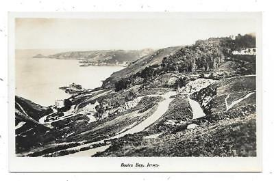 Superb Real Photographic Postcard Of Boules Bay Jersey