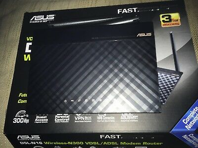 Asus Router Modem N16 Wireless