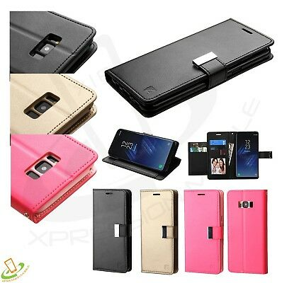Samsung GALAXY Note 8 Cards Leather Wallet Flip Dual Phone Case Cover Pouch +Kit