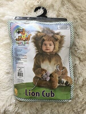 2a1ba1a05 RUBIES LION CUB Animal Toddler Infant Newborn Cosplay Noahs Ark Roar ...