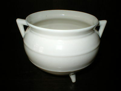 Belleek Cauldron Blue Stamp