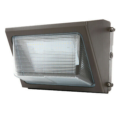 LED 80W WALL PACK Outdoor Lighting 5000K Cool White Industrial Commercial