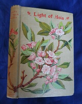 The Light of Asia Gautama Prince of India Sir Arnold Antique Buddhism Victorian
