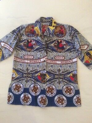 African / ethnic shirt size medium