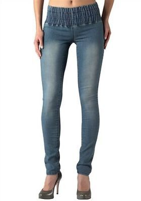 S8°9980 Jeggings Von Arizona In Blue Used Gr. 46