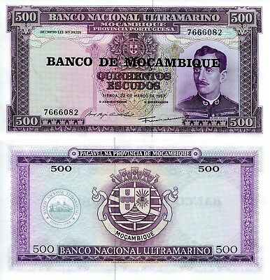 MOZAMBIQUE 100 Escudos Banknote World Paper Money XF Currency PIck p117 Bill
