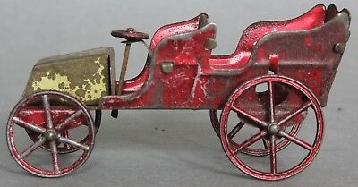 Penny Toy Tinplate Car For Spares Or Repair