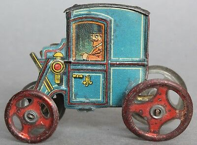 Penny Toy Tinplate Carriage For Spares Or Repair