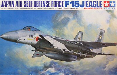 McDONNELL DOUGLAS F-15J EAGLE Tamiya 1/48 (Japan Air Self Defense Force)