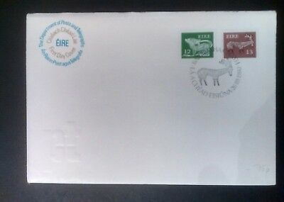 Ireland stamps FDC difinitives 1980 12p & 13p