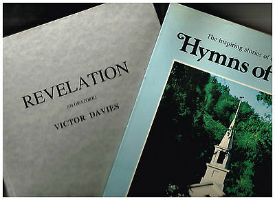 Revelation An Oratorio, Victor Davies + Handel The Messiah, + 12 Introits, 4BKs