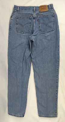 Vintage 550 Levis Mom Jeans Womens 29x31 Size 14 High Rise Relaxed Fit USA