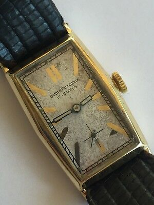 "Vintage Girard Perregaux 14K Solid Gold Watch 17J ""Wadsworth"""