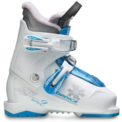Nordica Firearrow Team 2 Youth Ski Boots New White 22.5