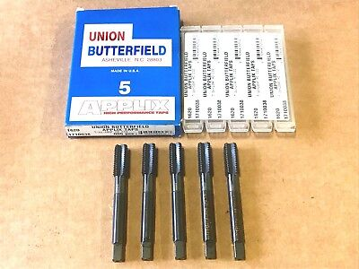 Straight Hand Tap HS GH3  Butterfield 10-10094 USA Made 4 Flute #1//2-20 N.F