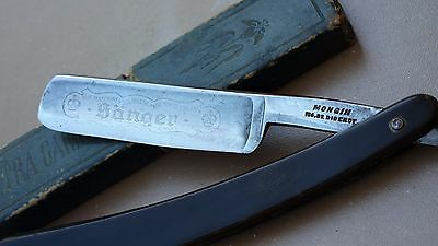 Coupe chou choux SÖNGER Allemand rasoir droit MONGIN DIDEROT straight razor